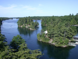 Some of the Beautiful 1000 Islands