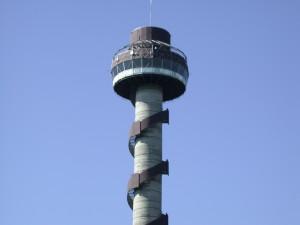 Tower overlooking the 1000 Islands