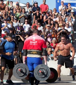 Weightlifters at the Gatineau Balloon Festival