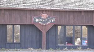 Part of Watson's Mill near Ottawa in Manotick