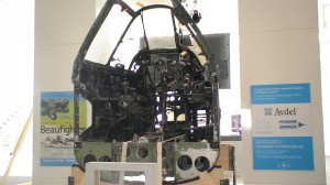 Aircraft cockpit at Ottawa Aviation Museum