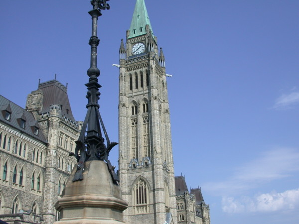 View of Canada's Parliament Buildings