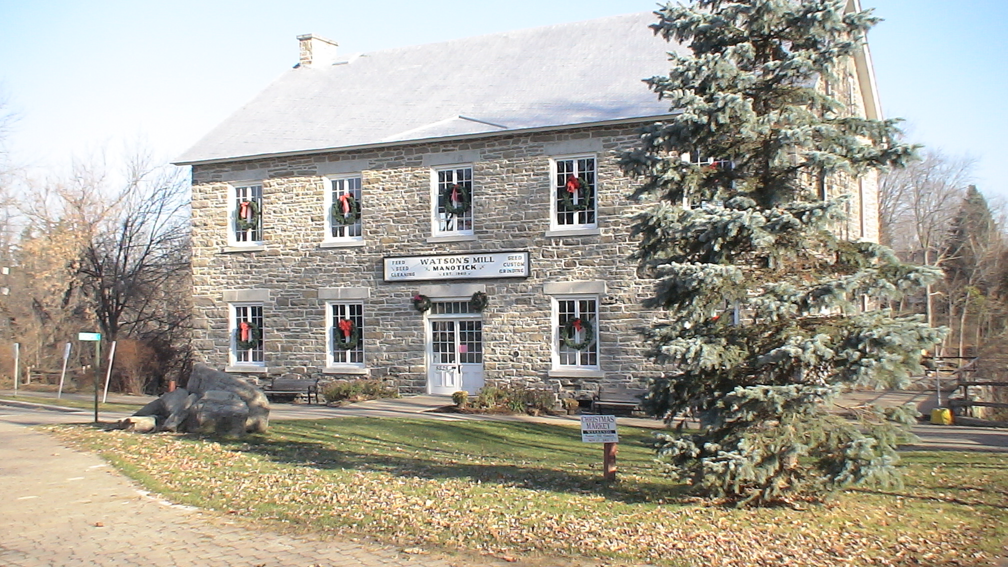 Watson's Mill in Manotick, near Ottawa