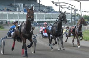 Horse racing at Rideau Carleton Raceway